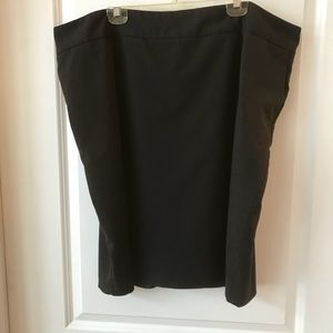 8911c28facb8f Mossimo for Target Skirts - Mossimo for Target Plus Size Black Pencil Skirt